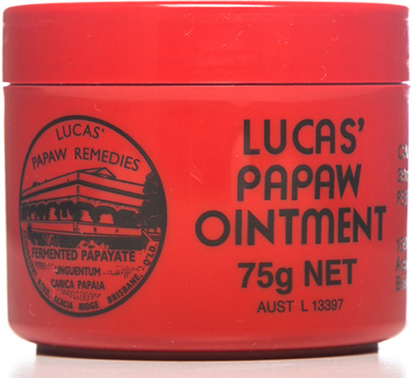 Lucas' Papaw Ointment 75g (Carton of 6)
