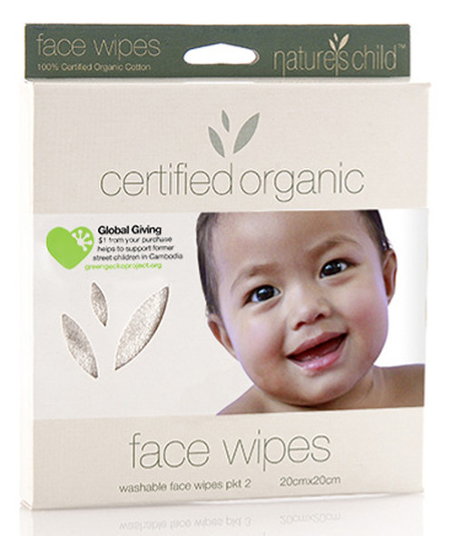 Nature's Child Face Wipes Organic