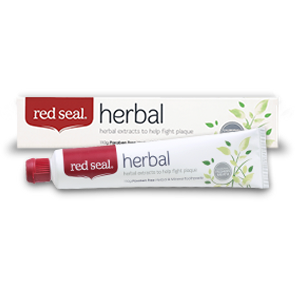 Red Seal Herbal Toothpaste 110g (Carton of 12)