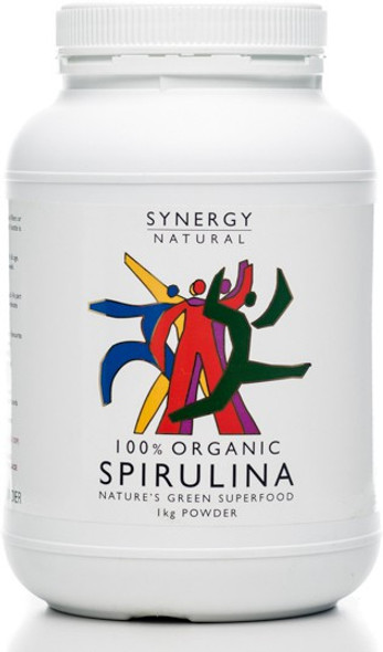 Synergy Natural Spirulina Organic 1kg *TEMPORARILY UNAVAILABLE*
