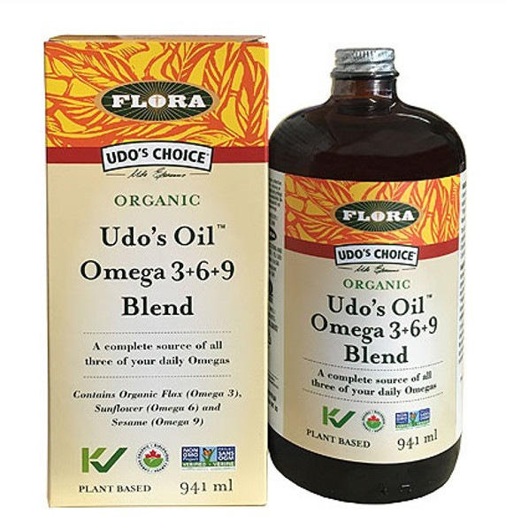 Udo's Choice Udo's 3-6-9 Oil Blend 941ml