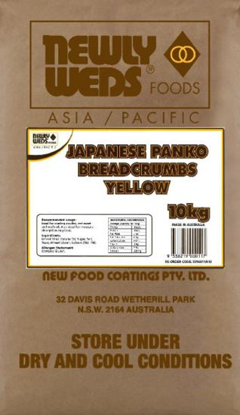 Newly Weds Breadcrumbs Jap Yellow 10Kg