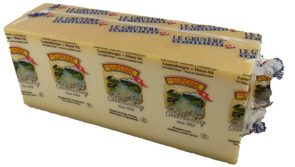 Le Superbe Cheese Swiss Gruyere Raw Weight 1Kg