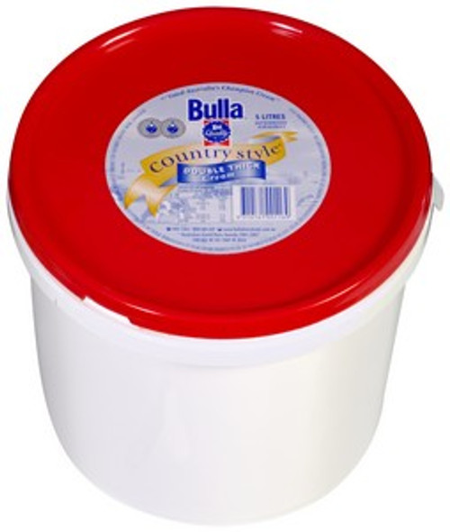 Bulla Cream Country Style Extra Thick 5L