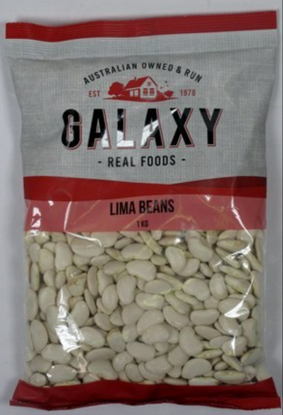 Galaxy Lima Beans 1Kg *TEMPORARILY UNAVAILABLE*