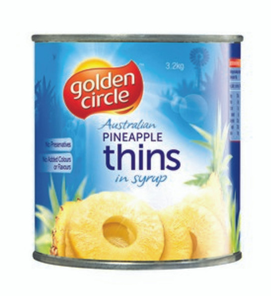Golden Circle Pineapple Rings A10 3Kg