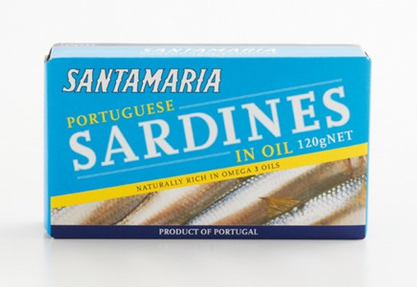 Marco Polo Sardines In Oil 105g