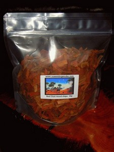 Aussie Barbeque Smoking Wood Chips Hickory 1Kg