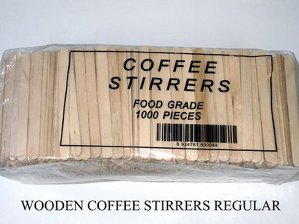 Wooden Stirrers 294g (Carton of 1000)