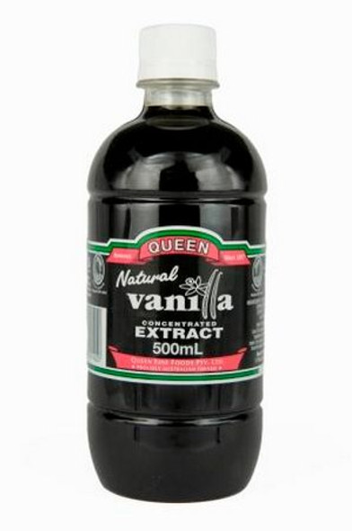 Queen Vanilla Concentrated Extract Natural 500ml