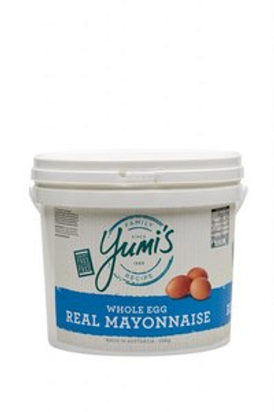 Yumi's Mayonnaise Whole Egg Real Dairy Free 10Kg