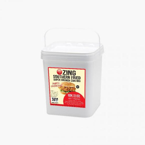 Colonel Peters Zing Southern Fried Coating Overcoat 10Kg