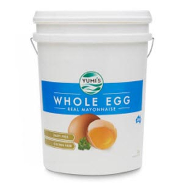 Yumi's Mayonnaise Whole Egg Real Dairy Free 20Kg