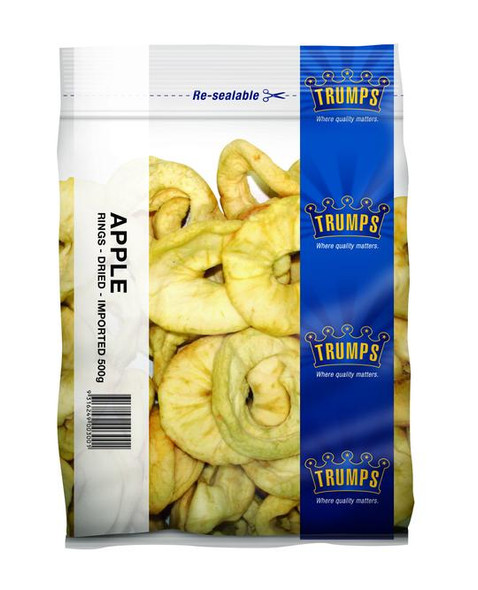 Dried Red Apple Rings 500g