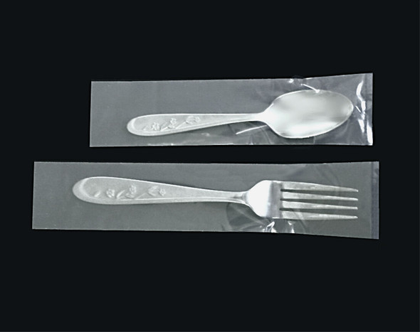 Tailored Cutlery Sleeve Clear Plastic 250g (Carton of 5000)
