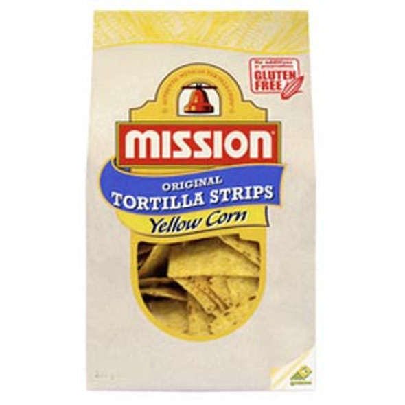 Mission Corn Chips Yellow P/Cut Uncooked 5Kg
