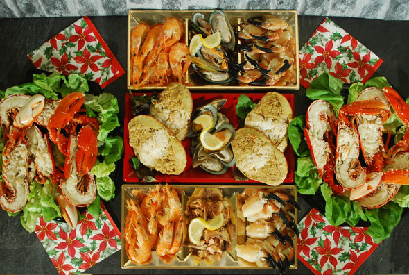 Foodlink Seafood Platter For Two Box #1 250g
