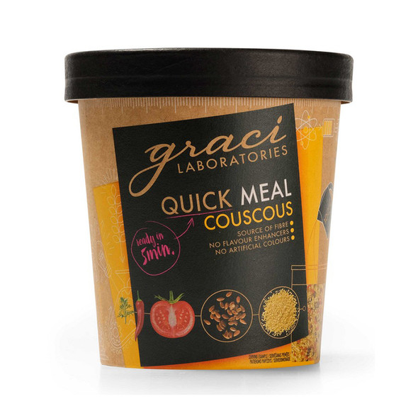 Graci Quick Meal Cup - Cous Cous 75g (Carton of 12)