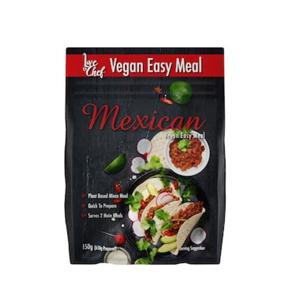 Live Chef Vegan Mexican Easy Meal Kit 150g