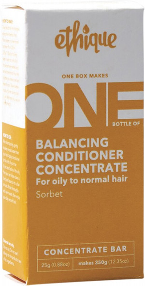 Ethique Balancing Conditioner Concentrate Sorbet - For Oily To Normal Hair 25g