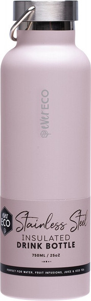 Ever Eco Insulated Stainless Steel Bottle Byron Bay - Lilac 750ml