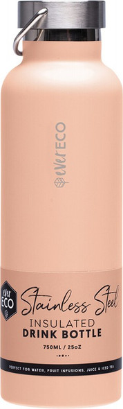 Ever Eco Insulated Stainless Steel Bottle Los Angeles - Peach 750ml