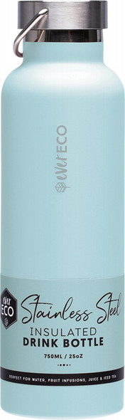 Ever Eco Insulated Stainless Steel Bottle Positano - Blue 750ml