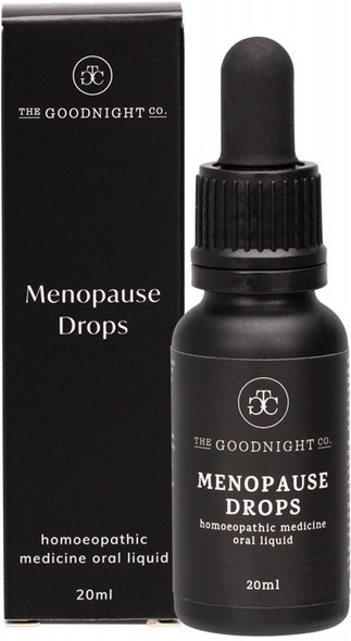 The Goodnight Co. Homoeopathic Medicine Oral Liquid Menopause Drops 20ml