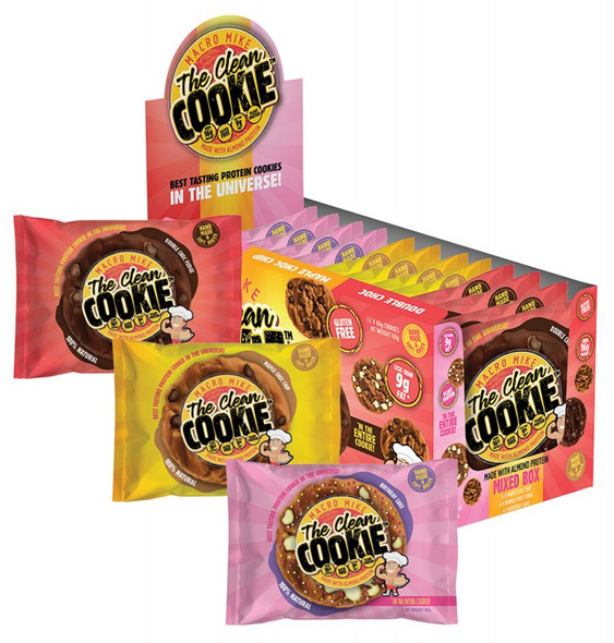 Macro Mike The Clean Cookie Mixed Box 12-Pack 720g