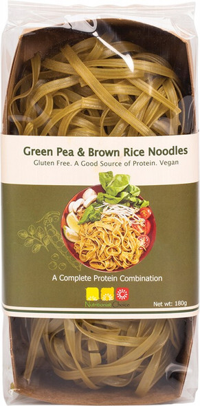 Nutritionist Choice Green Pea & Brown Rice Noodles 180g