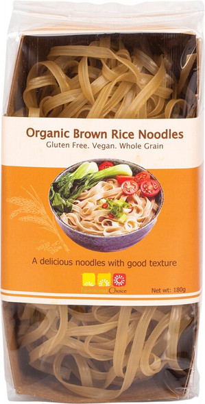 Nutritionist Choice Organic Brown Rice Noodles 180g