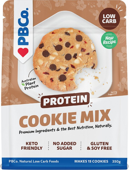 Pbco. Protein Cookies Mix Plant Protein 350g