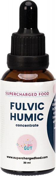 Supercharged Food Fulvic Humic Concentrate Drops 30ml