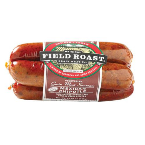 Field Roast Mexican Chipotle Sausages 362g (Carton of 12)