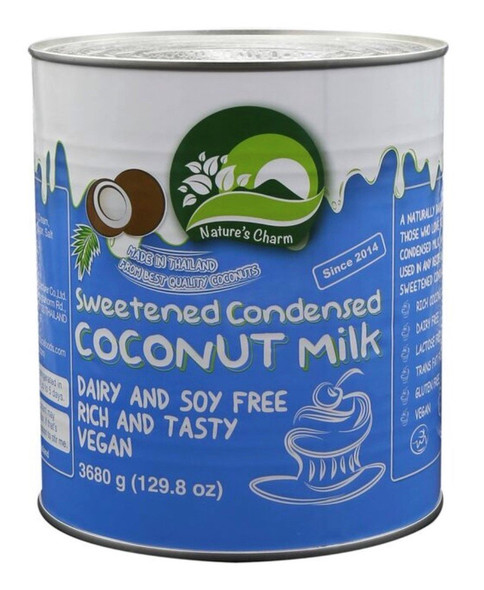 Nature's Charm A10 Foodservice Condensed Coconut Milk 3.9Kg