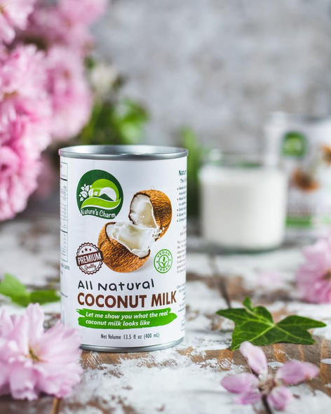 Nature's Charm All Natural Coconut Milk 400ml
