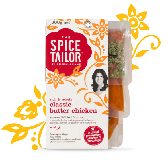 The Spice Tailor Sauce Classic Butter Chicken 300g (Carton of 5)