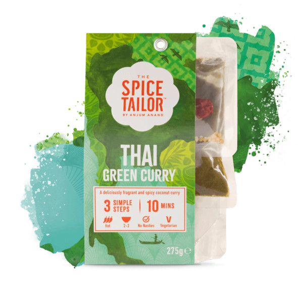 The Spice Tailor Asian Curry Thai Green 275g (Carton of 5)