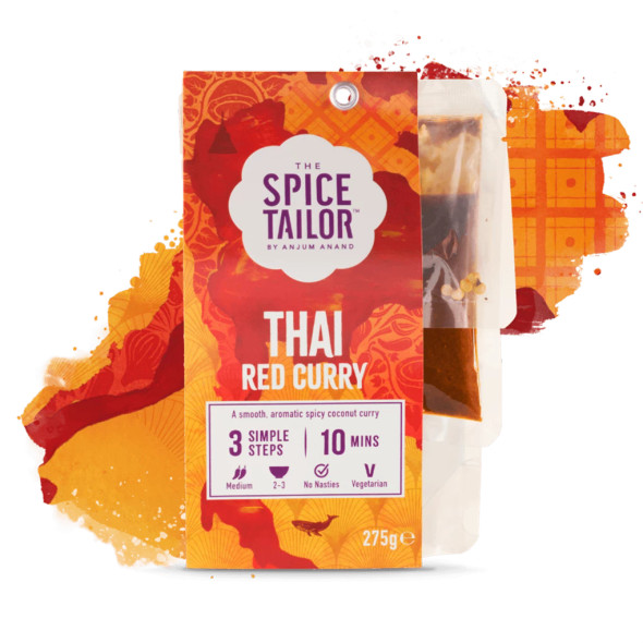 The Spice Tailor Asian Curry Thai Red 275g (Carton of 5)
