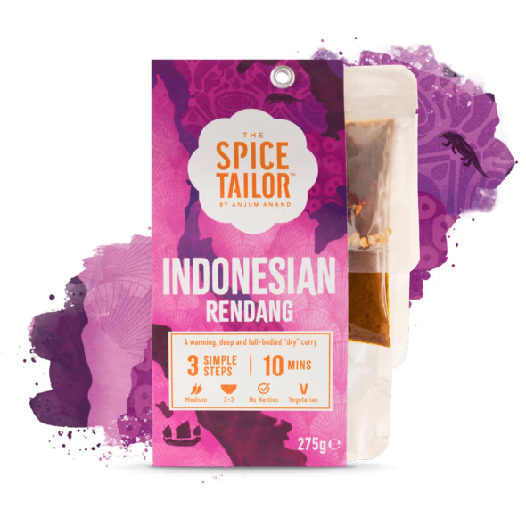 The Spice Tailor Asian Curry Indonesian Rendang 275g (Carton of 5)