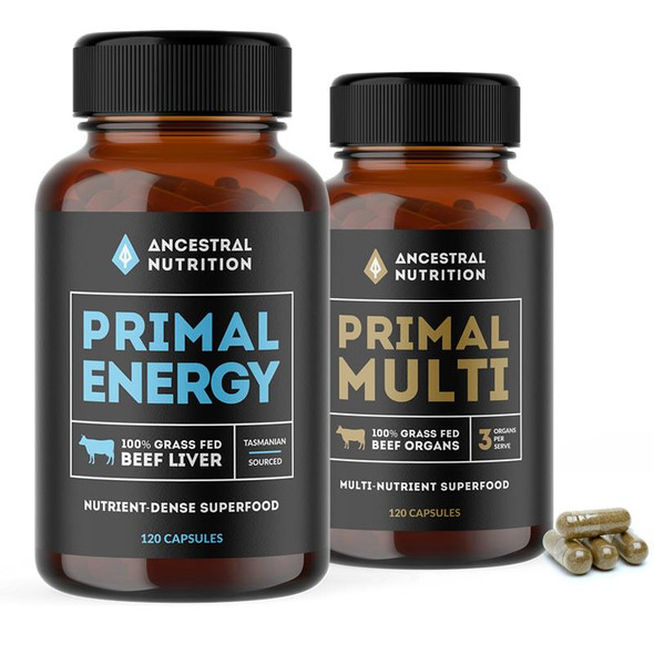 Ancestral Nutrition Twin Pack - 120 Capsules (Carton of 6)