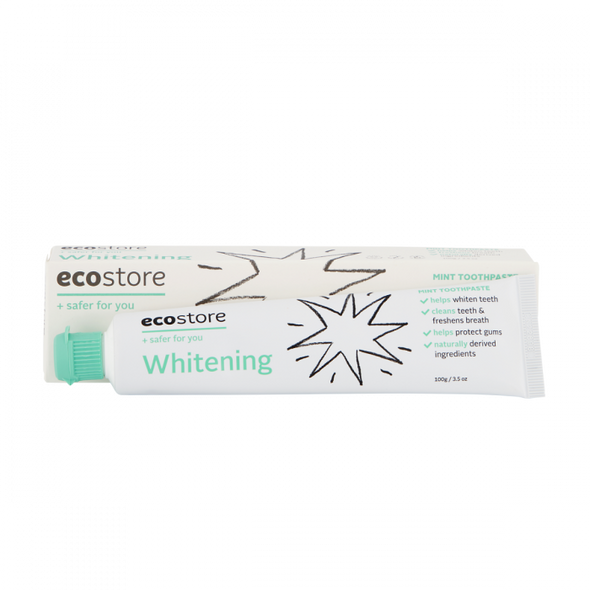 Ecostore Oral Care Toothpaste Whitening 100g (Carton of 12)