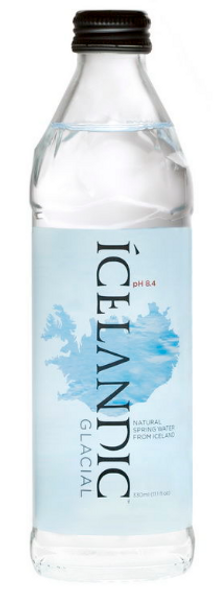 Icelandic Glacial Spring Water Glass 330ml x 24