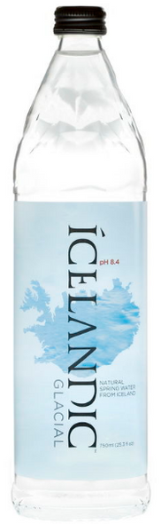 Icelandic Glacial Spring Water Glass 750ml x 12