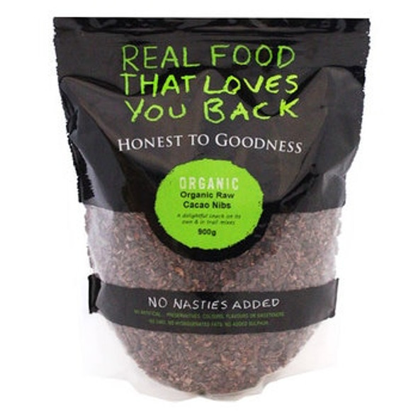Honest to Goodness Organic Cacao Nibs 900g x 6 (Pre-Order Item)