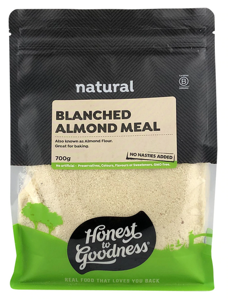 Honest to Goodness Almond Meal Blanched 700g x 6 (Pre-Order Item)
