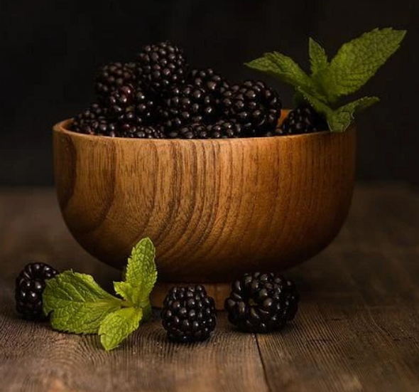 The Forager Food Co. Freeze Dried Blackberries Whole 100g