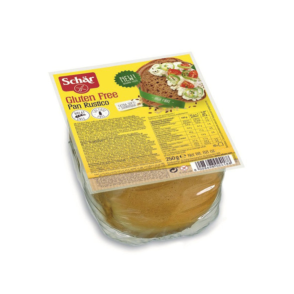 Schar Pan Rustico 250g  x 8 Packets (Back in Stock 21/05/2021)