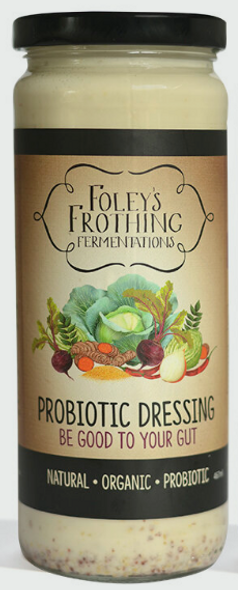 Foley's Frothing Probiotic Dressing 250g x 6 (Pre-Order Item)