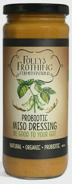 Foley's Frothing Probiotic Miso Dressing 250g (Pre-Order Item)
